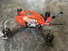Babyhawk R Pro TBS Crossfire XF Race Antenna Mount