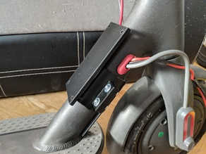 Xiaomi M365 additional battery mount