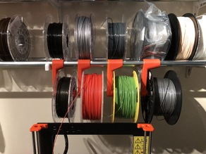 Hanging filament spool holder