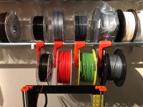 Hanging filament spool holder