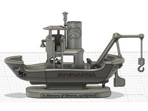 GE148 SPERANZA Italian Fishing Boat - boat test