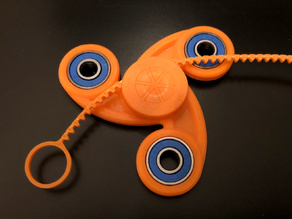 Curvier Zippier Fidget Spinner