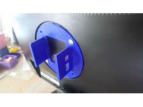 RaspberryPI monitor holder Vesa (customizable)
