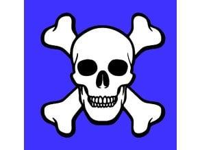 Skull & Crossbone Design