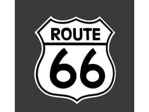 Route 66 Fridge Magnet