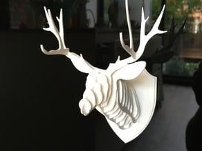 Small wall mounted Deer head