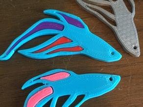 Interchangeable Color Beta Fish