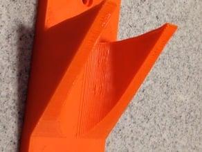 Parametric Shovel (or whatever) Wall Hook