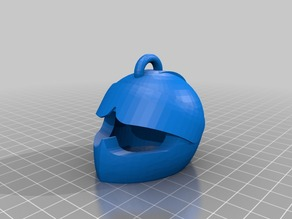 Racing Helmet Keychain (V3)