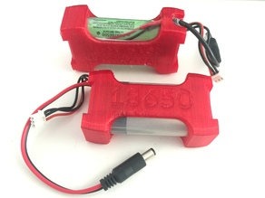 18650 battery case for FPV goggles
