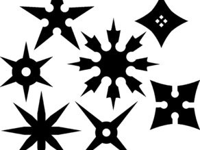Shuriken shapes