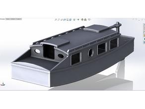 House Boat Model