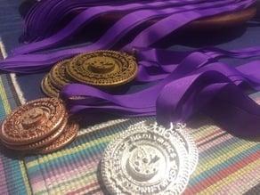 Bright's Grove Olympics 2016 Medallions