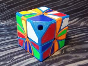 Asymmetrical Dino 2x2 Rubik's Cube