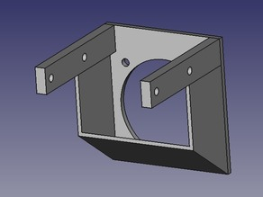 40mm Fan Mount for Wade's Extruder