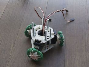 Omniwheel x 3 robot frame and mounts