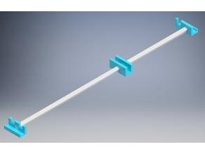 Anet A8 frame reinforcement for y-belt tension