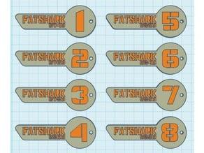 FPV Frequency Keys Fatshark