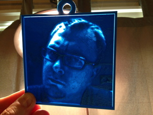 Sanduchi, the Customized Lithopane