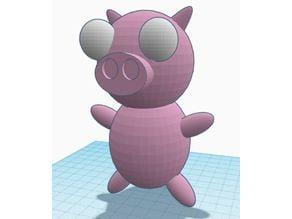 Gir's Rubber Piggy