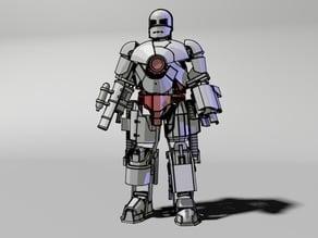 4.Crotch of Iron man Mark 1