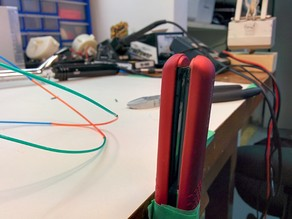 Filament joiner for multicoloured 3D prints