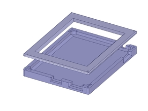 AutoX3D iPad 1 case with CAD file