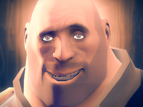 Team Fortress 2 Heavy Head