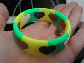 6 colors bracelet