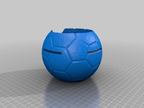 Echo Dot - Fussball (Soccer ball stand for Echo Dot)