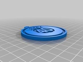 POKEMON GO 40 Badge Keyring
