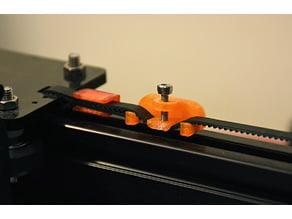Adjustable Belt Tensioner/Tightener and Belt Tie (Tevo Tarantula)