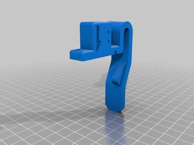 JGAURORA A5 Modified part Manual filament feed upgrade fixed by