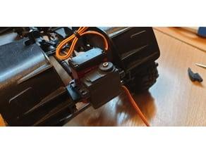 Steering servo & servo -winch front mount for Axial scx10 II