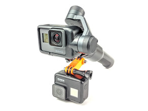 GoPro-Style double-sided 3 post conenctor