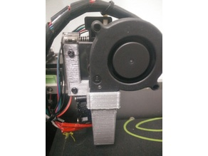 East3D Gecko Part Cooling Blower Fan Duct & Mount