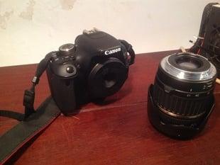 Canon EF-S pinhole 'lens'