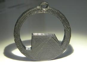 Black Mesa Keychain