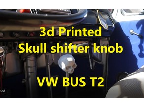 skull shifter knob vw bus