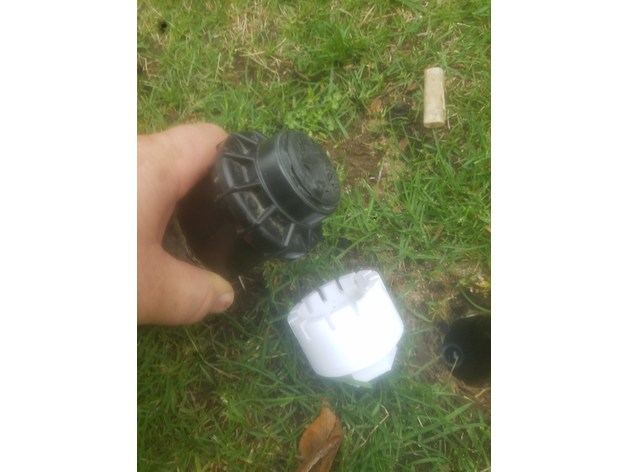 Tool for removing Hunter Sprinkler Heads by MooseAMoose - Thingiverse