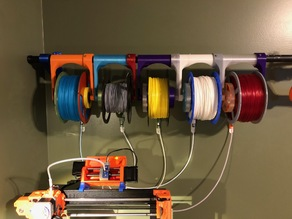 Hanging Holder for Parametric Auto-Rewind Spool Holder