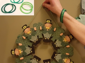 St. Patrick's Day Green Band