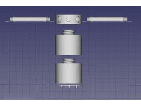 Modular robot vacuum boundary