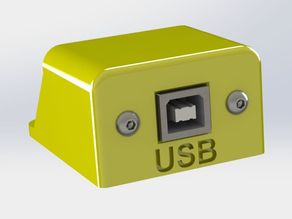 USB socket for extension cable