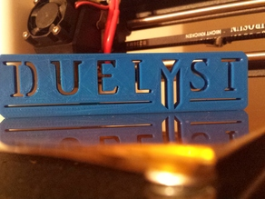 Duelyst Logo W/ Stand