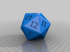 Spindown Counters D20 Dices
