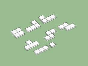Piezas para Tetris de mesa