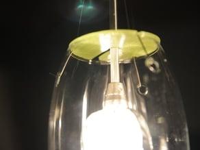 Anti-bugs lamp cover