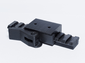 Quick release Picatinny Rail Mount