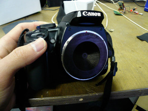 Pinhole Lens for Canon EF mount